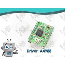 Driver A4988 Motor Pasos Impresora Arduino Disipador Pololu