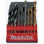 Juego De 9 Brocas Makita D-16449, Madera, Metal, Concreto