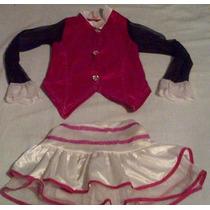 Disfraz De Draculaura Para Niña Talla Chica, Usado