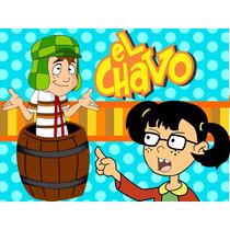 Kit Imprimible Chavo Del 8, Cajitas E Invitaciones Fiesta