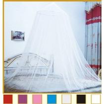 Octorose ® Ronda Hoop Bed Canopy Red Mosquitera Fit Cuna Dob