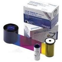 Cinta De Color Ribbon Datacard 500 Imp. Ymckt 552854-504