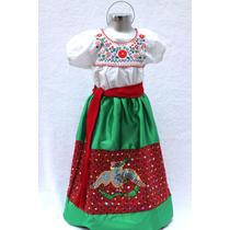 Disfraz De China Poblana Traje Vestido México