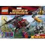 Lego Wolverine Chopper Enfrentamiento 6866