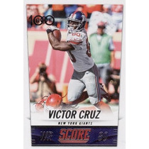 2014 Score H100 Victor Cruz New York Giants Wr