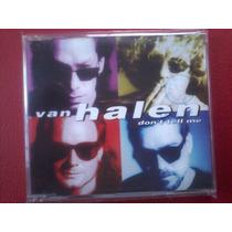 Van Halen Sencillo 4 Temas Algunos Live Abierto Buen Estado
