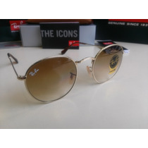 Ray Ban John Lennon Rb3447 001/51 Dorado-cafe Original