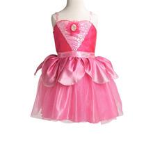 Disfraz Vestido Barble Zapatillas Rosa Entrega Inmediata