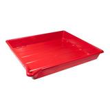 Charola Para Laboratorio Roja 40x50 (4178)