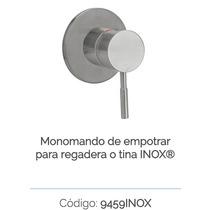Monomando De Empotrar Para Regadera O Tina Urrea 9459 Inox