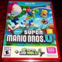 Videojuego New Super Mario Bros U Y New Super Luigi U Wii U