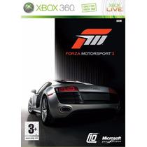 Xbox 360 Forza Motorsport 3 (acepto Mercado Pago Y Oxxo)