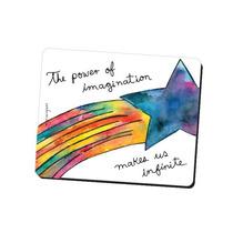 Mouse Pad Diseño Imagination Mariorigami Divertido Accesorio