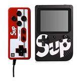Mini Consola Sup Gamebox 400 Videojuegos 2 Jugadores