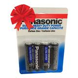 Baterias Pilas Carbon Aa 4 Piezas Ultra Hyper Panasonic