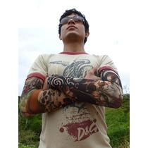 Remate Lote Surtido De 4 Mangas Tatuajes Tattoo Moda In Vbf