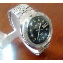 Citizen Diver Seven Star Automatic, Antiguo, Scuba, De Buceo