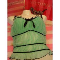 Victorias Secret The Mint Top Blusita Tipo Corset Sz 34c