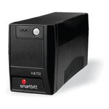 No Break 750va Smartbitt Nb750 6 Contactos 375w 120vca
