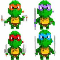 Figuras Armables Tortugas Ninja