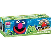 Apple Y Eve Jugo De Uva Blanca Grover 8-count Cajas Aséptica