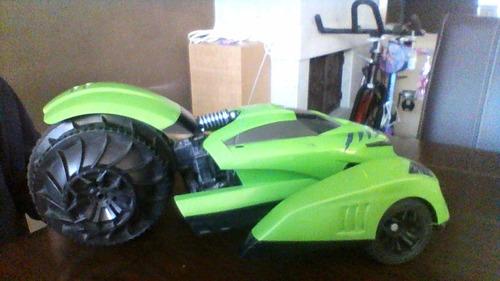 Carro Terreneitor Hot Wheels Verde En Perfectas Condiciones Compra