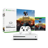 Consola Xbox One S 1tb Hdr 4k Ultra Hd Blu-ray Bundle Pubg Xbox Live Gold Game Pass