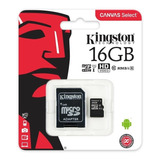 Memoria Micro Sd 16gb Kingston Clase 10 Ultra Mobile 80mb/s 5 Años Garantia Original Celulares Tablet Mayoreo
