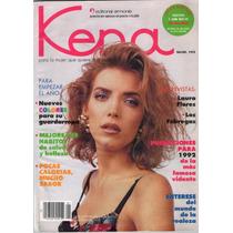 Laura Flores En Portada De La Revista Kena 1992