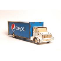 10 Camión En Mdf Pepsi Personalizamos Con Su Marca