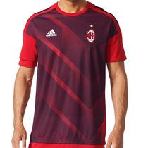 Playera Jersey Local Ac Milan 17 18 Hombre adidas Bs2561 en venta en ... 100bcb05342f3