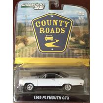 Greenlight Country Roads 1969 Plymouth Gtx, Escala 1:64
