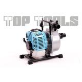 Bomba Agua De Pulgada Y Media 1.5  Con Motor Gasolina 52cc