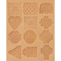 Estampador Letras P Piel Tandy Leather Factory Celtic Design