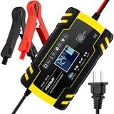 Foxsur 12v 24v Mantenedor Cargador Inteligente Para Batería