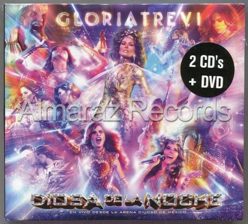 Gloria Trevi Diosa De La Noche En Vivo Arena Cdmx 2cd+dvd
