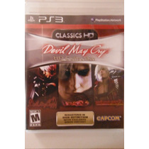 Ps3 Playstation Devil May Cry Hd Collection Aventura Accion