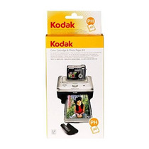 Kodak Easyshare Ph-40 Base De Impresión Y Cartucho De Color