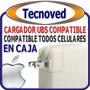 Plug De Carga Original Compatible Todas Las Marcas Celulares