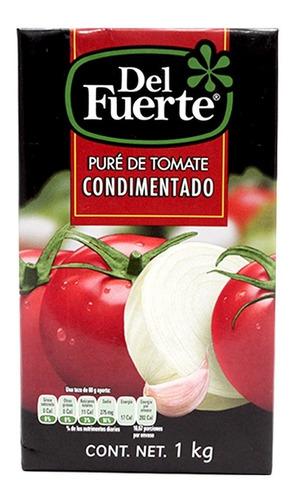 Del Fuerte Puré De Tomate Brick 1 Kg
