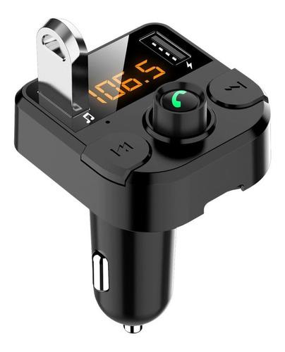 Transmisor Receptor De Audio Estéreo Fm Bluetooth Mp3 P/auto