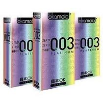 Okamoto 003 Platinum Condones - 30 Piezas *** Guinness World
