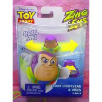 Toy Story Set De Figuras De Buzz Lightyear Y Zurg