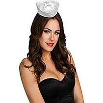 Rubíes Disfraces De Mujer Satén Mini Sombrero De Marinero Pa