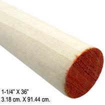 Tarugo De Madera Poplar 1-1/4x36 Pulgadas Madison Mil