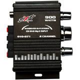 Amplificador 900w Para Auto Moto Casa Conexion Rca V/colores