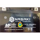Bateria Motoneta/moto Ytx7abs De Gel Nasaki Calidadjapanese