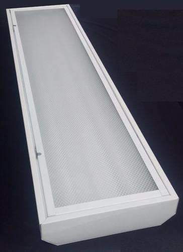 Lampara capfce led 2 tubos de 21w led marco abatible 576 - Lamparas de tubo led ...