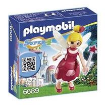 Playmobil Set 6689 Hada Lorella Con Vestido Rosa Js