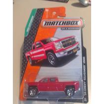 Matchbox De Coleccion 2015 Chevy Silverado 14 1500 Roja